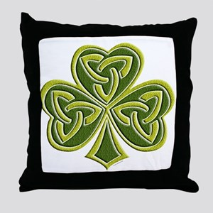 Celtic Trinity Throw Pillow